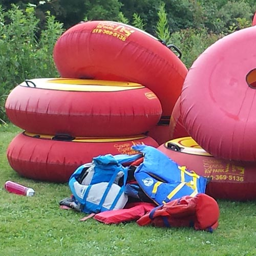 Day Guest Tubing Package